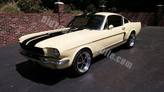 1965 Ford Mustang Fastback Springtime Yellow for sale Old Town Automobile in Maryland