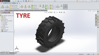 Solidworks Tutorial How to Make Tyre