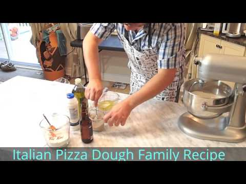 Italian Pizza Dough Recipe – Family Secret Recipe