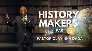 Anna- In Everything Give Thanks    History Makers 5 - Pastor Yinka Dada RCCG RHH June 6, 2021