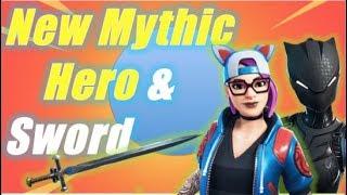 New Mythic Hero & Sword / Fortnite