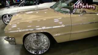 "1964 Chevrolet Impala SS Convertible on 24"" Forgiato Magro-L Wheels - 1080p HD"