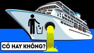 Điều gì xảy ra khi bạn xả nước trên tàu du lịch