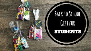 Back To School Gift Idea For Students