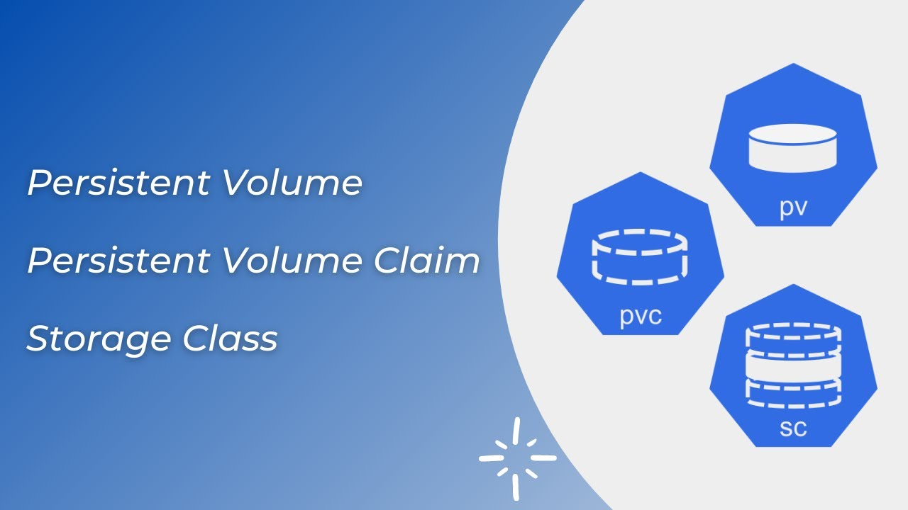 Kubernetes Volumes in detail [Persistent Volume, Persistent Volume Claim & Storage Class]