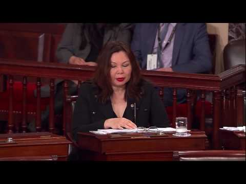 Senator Duckworth Speaks Against Scott Pruitt's Nomination to be EPA Administrator
