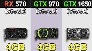 Скачать RX 570 Vs GTX 970 Vs GTX 1650 Latest Drivers Benchmarks 19 9 2 Vs 436 30