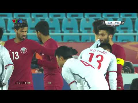 AFC cup 2018: U23 Viet Nam vs U23 Qatar - Hiệp 2