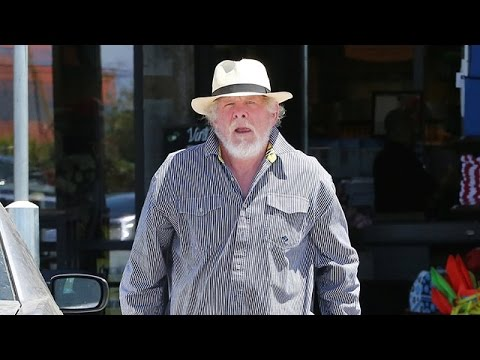 Nick Nolte Has Difficulty Getting Back To His Handicapped Parked Car