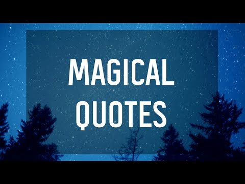 Most Magical YA Quotes