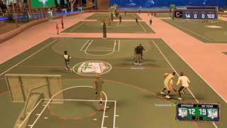 NBA 2K17 MYPARK RIP SLASHER!!  THIS ATHLETIC FINISHER CAN DO EVERYTHING!!!