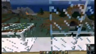 montando casa no jogo Minecraft