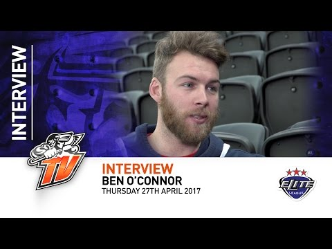 Sheffield Steelers  - Ben O'Connor signs 2-Year contract