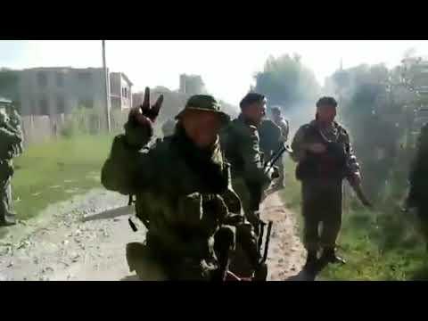 Донбасс. Они местные,