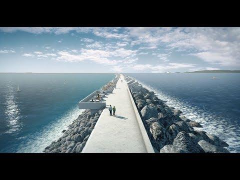 Tidal energy power generation system