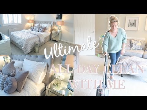 NEW! ULTIMATE CLEAN WITH ME FALL AUTUMN 2018 | ALL DAY CLEAN WITH ME | EXTREME CLEANING MOTIVATION