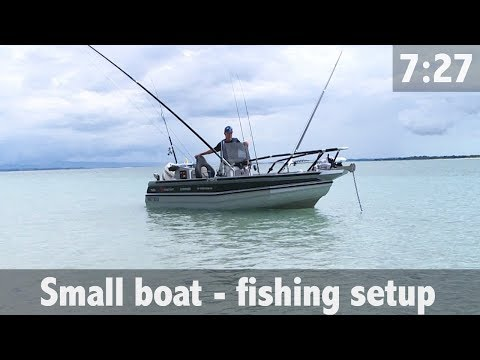 SMALL BOAT - FISHING SETUP