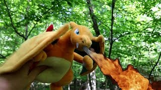 Charizard Vs Blastoise at Viridian Forest (Plush Battle)