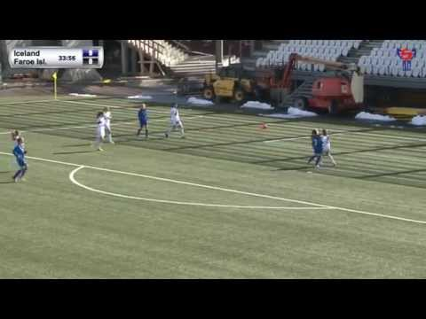 FSF Varpið: UEFA WU16 Iceland - Faroe Islands. Development Tournament