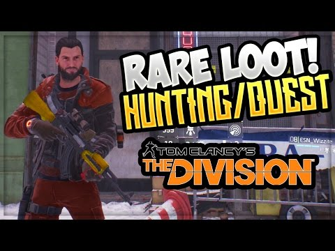 THE DIVISION: DARK ZONE - RARE LOOT HUNTING ! (Tom Clancy's The Division High End Gear)