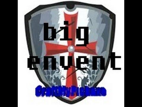 Big Event sur CraftMyPickaxe !!!!