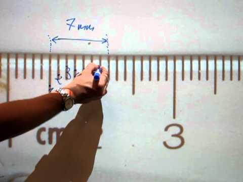 Read a METRIC tape measure