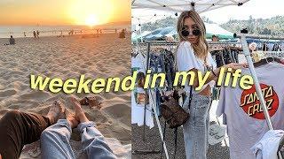weekend in my life: flea market, beach night & cleaning!