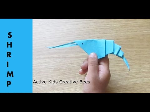 Origami Shrimp Tutorial