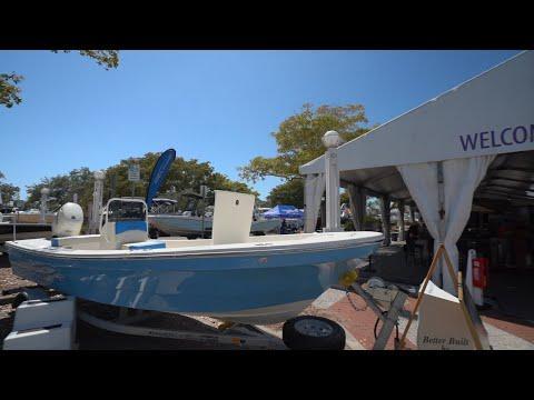 Panga Boats At The 2019 Suncoast Boat Show