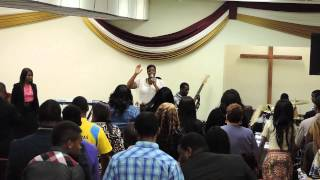 ANQUETTE WRAY CHARGING THE ATMOSPHERE AT CRAZY PRAISE