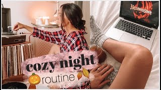 Fall Night Routine | Emelyne