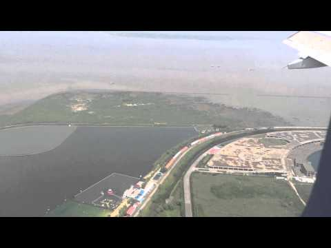 Landing in Shanghai (Busiest Port Of The World) - Air China