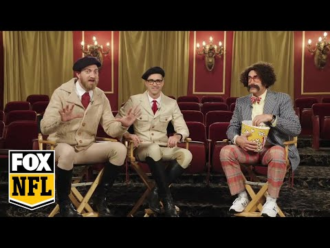 Rhett & Link pitch the next big sports movie with Rob Riggle   RIGGLE'S PICKS   FOX NFL