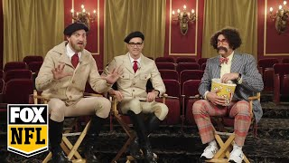 Rhett & Link pitch the next big sports movie with Rob Riggle | RIGGLE'S PICKS | FOX NFL