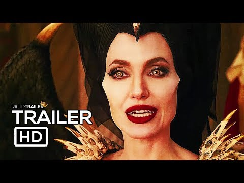 MALEFICENT 2: MISTRESS OF EVIL Official Trailer (2019) Angelina Jolie, Disney Movie HD