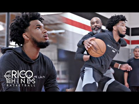 Marvin Bagley III Individual Workout With Rico Hines