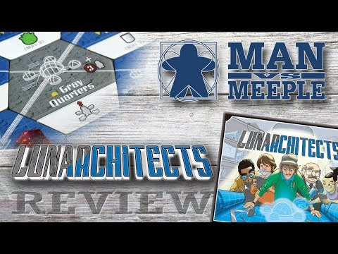 Lunarchitects (Iron Kitten Games) Review by Man Vs Meeple