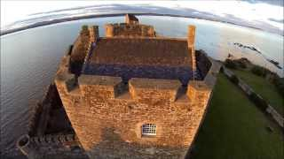 Blackness Castle on the Banks of the Forth in Scotland