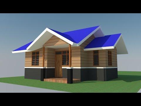 5400 Gambar Rumah Minimalis Semi Kayu Sederhana HD Terbaru