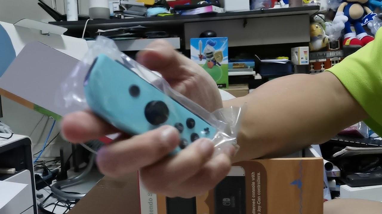 Nintendo Switch Animal Crossing Unboxing - YouTube