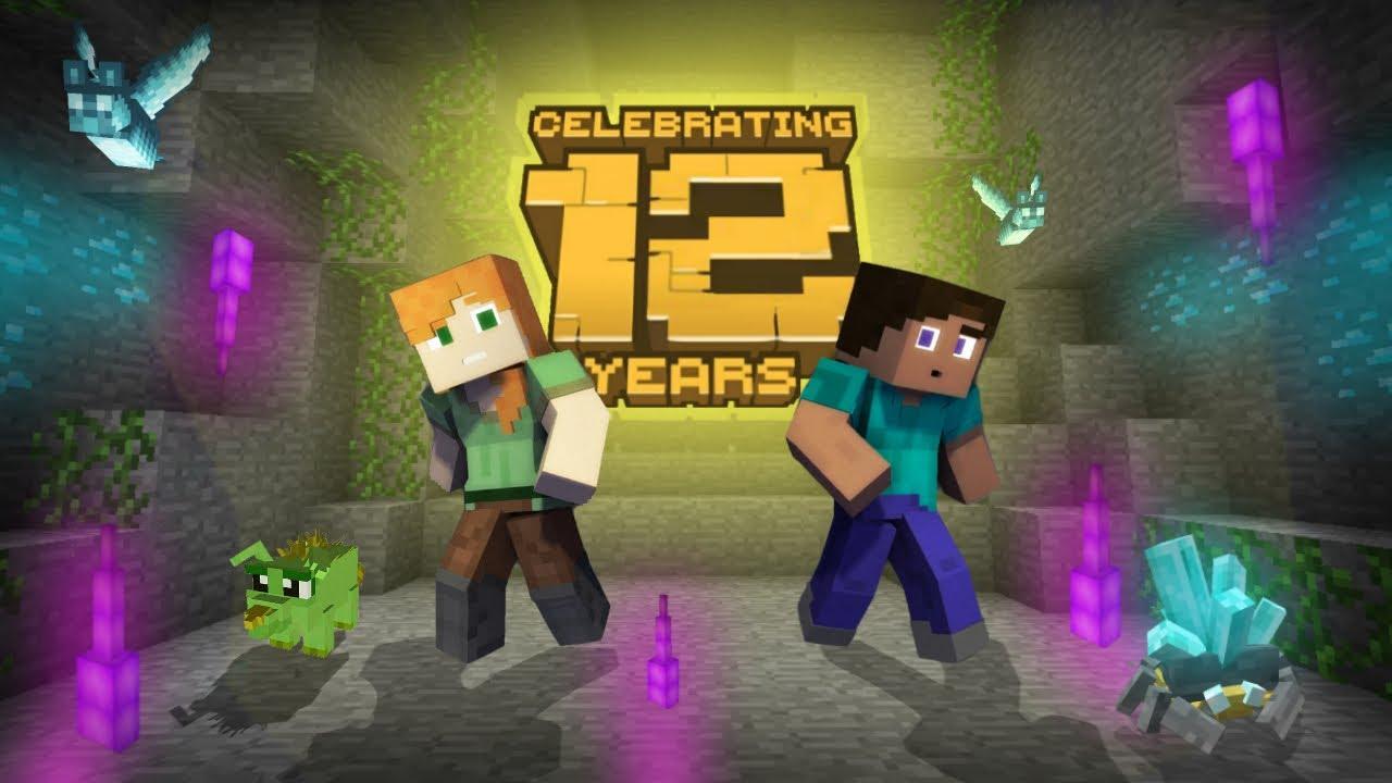 Minecraft PE 110.1108.10 - Trailer 2102110 (1102th Anniversary)
