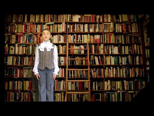 Изображение предпросмотра прочтения – ВарвараМаксутова читает отрывок изпроизведения «Крестьянские дети» Н.А.Некрасова