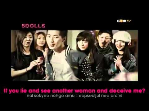 5Dolls ft. Jay Park - Lip Stain (MV)(eng sub+hangul)