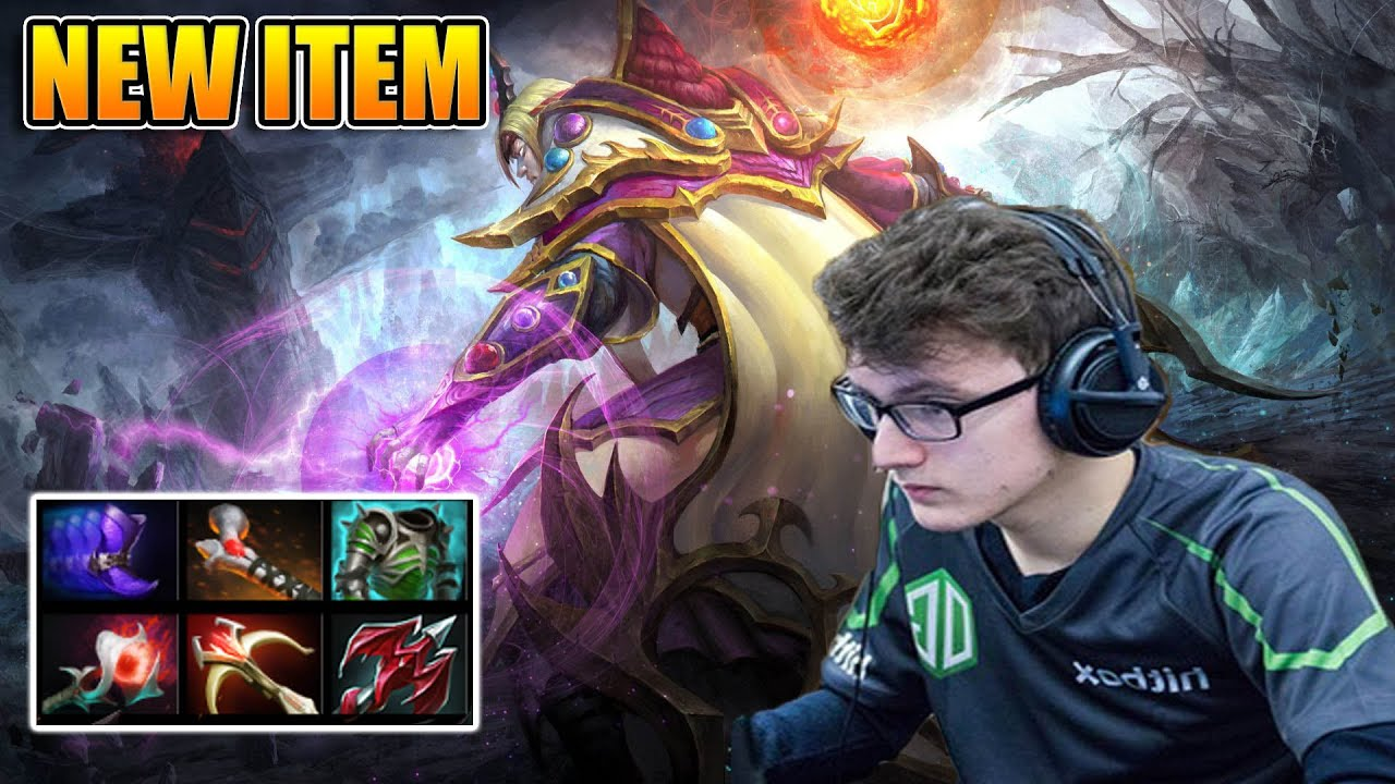 Miracle Dota 2 Invoker Attack Damage Build For With Dragon Lance
