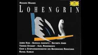 "Richard Wagner ""Lohengrin""  King - Janowitz - Ridderbusch - Stewart - Jones (1971 CD I)"