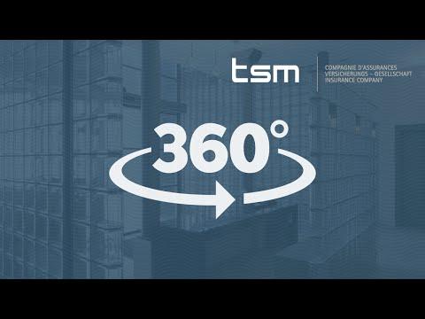 Visite 360° du siège de TSM Compagnie d'Assurances