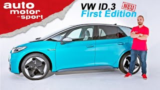 VW ID.3 (2020): Erster Check der First Edition - Sitzprobe/Review | auto motor und sport