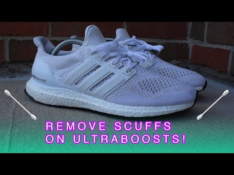 How to Remove Scuffs on Ultra Boosts