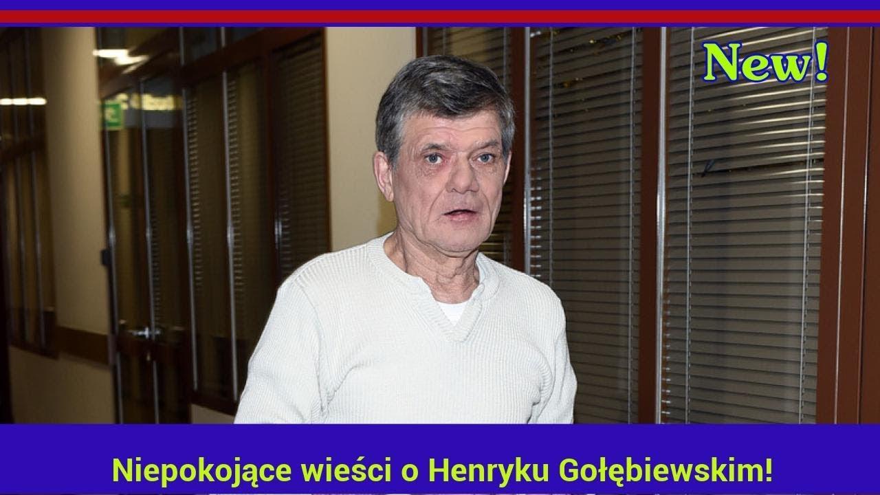 Niepokojące wieści o Henryku Gołębiewskim!
