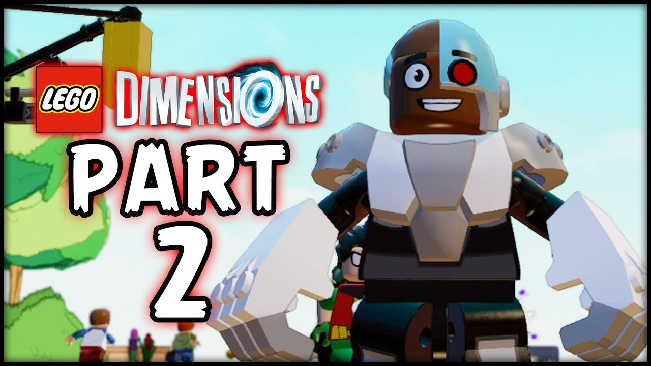 LEGO Teen Titans Go! – Part 2 – Titan Tower! (Lego Dimensions)